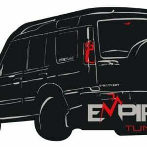 Black Empire Tuning Discovery 2 Sticker