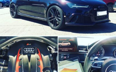 Audi RS6 4.0L V8 Remap with Pops and Bangs (crackle map)