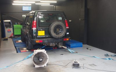 200 bhp Discovery Defender TD5!