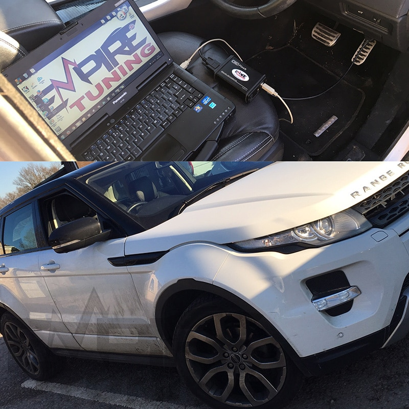 Range Rover Evoque Sd4 Remap